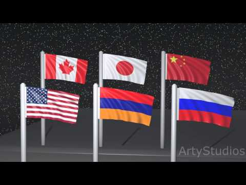 MultiFlag With Blender