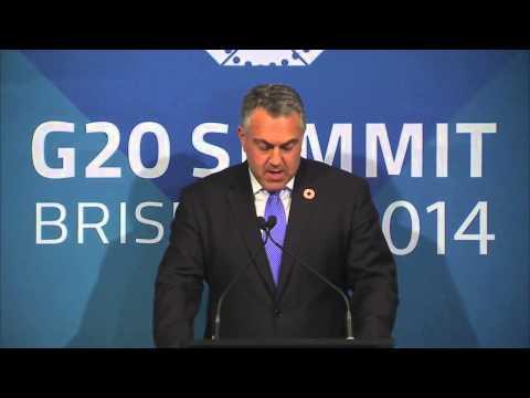 HỘI NGHỊ THƯỢNG ĐỈNH G20 TẠI BRISBANE   Day 2 - Part 2