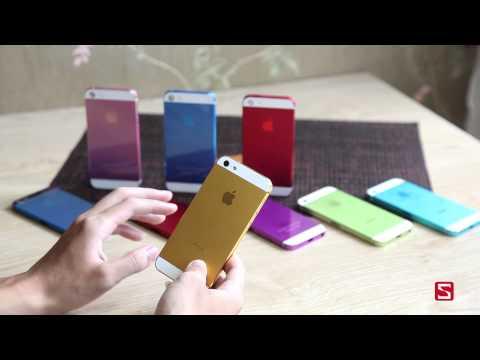 Trên tay bộ vỏ nhiều màu sắc của iPhone 5 - CellphoneS
