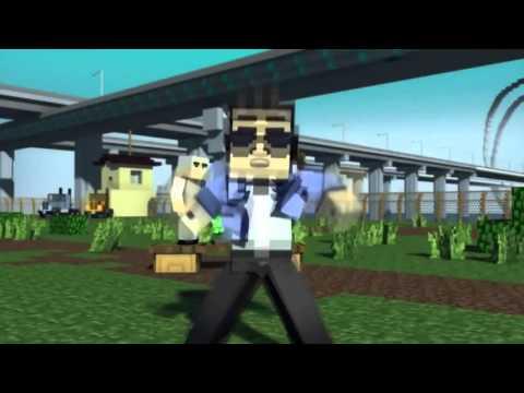 Gangnam Style Chế - phien ban minecraft