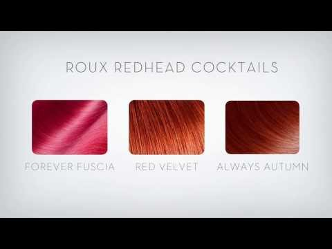 Roux Color Refresh Mask Redhead Hair Color Cocktails
