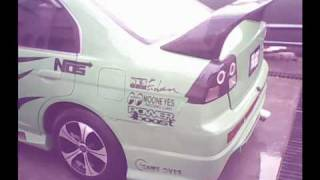 Honda Civic Modified Car In Pakistan Green Civic videos