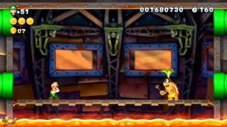New Super Luigi U - 5-C. Iggy's Swinging-Chains Castle [ALL STAR COINS]