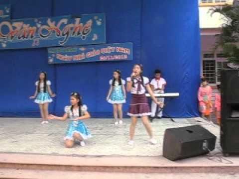 ĐIỀU EM MUỐN, tốp ca múa 8E Trần Mai Ninh tp TH