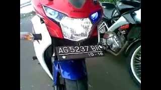 Honda CBR 150 FireBlade Vs Yamaha Vixion 150 SE (with