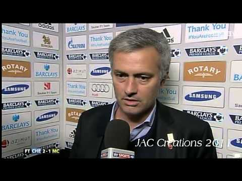 Jose Mourinho Post Match Interview Chelsea 2-1 Manchester City