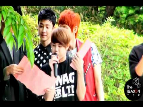 [FANCAM] 110522 BEAST mini fanmeeting - Dancing Shoes