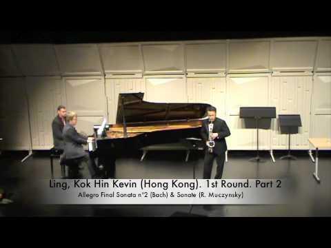 Ling, Kok Hin Kevin (Hong Kong). 1st Round. Part 2