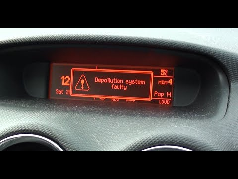 Peugeot 308 Depollution System Faulty Error Code P1340