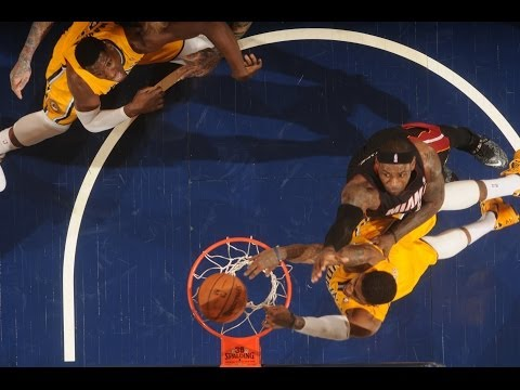 Paul George Crosses Over And Dunks on LeBron