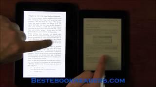 Kindle Paperwhite 2 Vs Kindle Fire HD