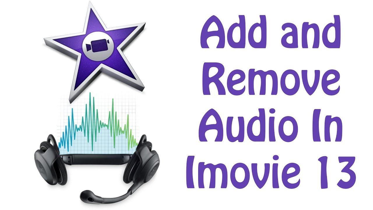 how to cut audio in imovie