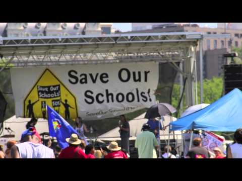 Scenes From SOS March (Kozol Speech)