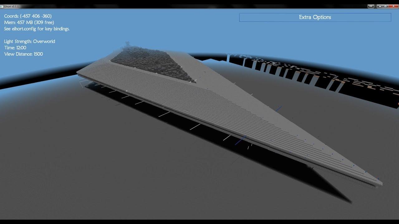 WatFile.com Download Free MineCraft - Mega Build - Super Star Destroyer - YouTube