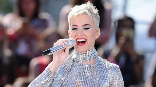 "Katy Perry Changes Her ""Swish Swish"" Lyric About Taylor Swift & Rips Pants During Livestream Concert"