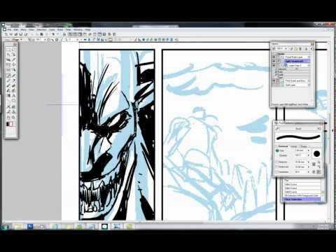 Making Thumbnails in Manga Studio - Scribbles With Jonathan