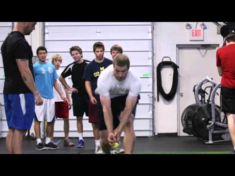 Sprint/Acceleration Mechanics: Tennis Ball Drop
