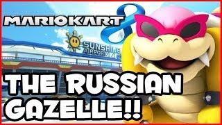 Mario Kart 8 Wii U - THE RUSSIAN GAZELLE!! (1080p MK8 Online Gameplay)
