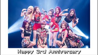[Happy 3rd Anniversary!] Most Viewed TWICE Official Videos TOP40