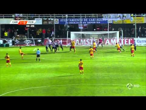 Cartagena - Barcelona Highlights HD 06.12.2013