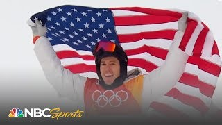 2018 Winter Olympics: Shaun White wins halfpipe gold with epic final run | NBC Sports