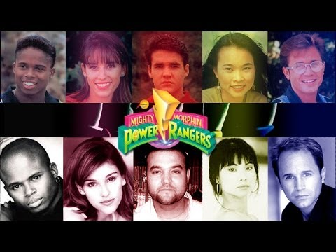 RECORDANDO MIGHTY MORPHIN POWER RANGERS: BEFORE AND AFTER | El antes y despues de los actores