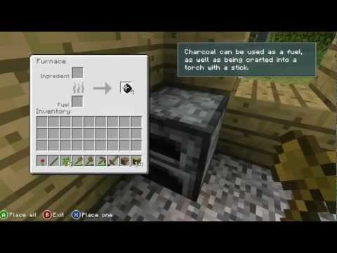 Minecraft Xbox 360 Official Gameplay Tutorial In HD