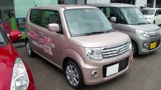 2013 New SUZUKI MR WAGON Wit - Exterior & Interior