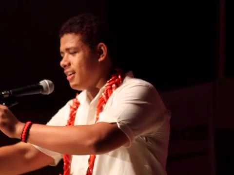 Le Leo o Amerika Samoa Finale performance by Solomona Phillips