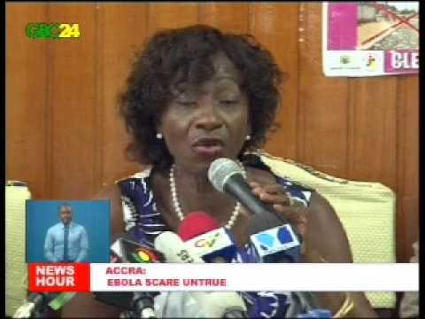 Alleged Ebola Outbreak In Ghana Untrue