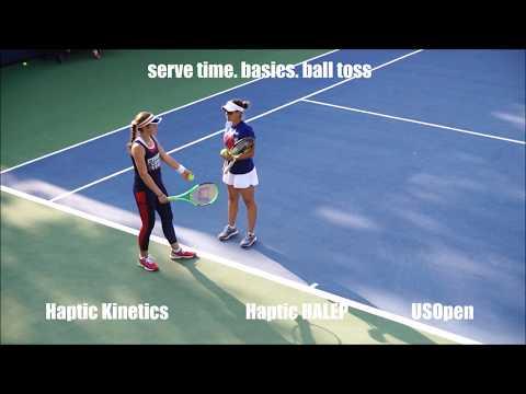 Haptic HALEP - COPIL- OSTAPENKO - Sharapova - serve US Open [FullHD]