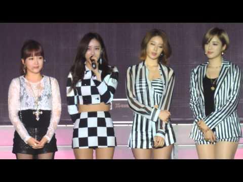 [Fancam] T-ara concert in cambodia introduce