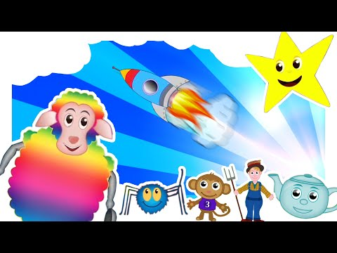 Compilation of the best children's Nursery Rhymes (46 mins in length): Nursery Rhymes TV