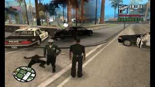 Como Ser Policia En GTA San Andreas Sin Mods