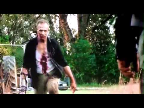 The Walking Dead - Season 3  - Daryl Kills Merle Scene