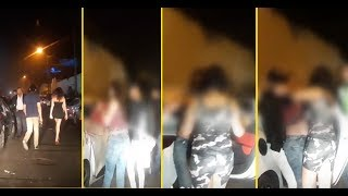 بالفيديو.. سكرانة و محيحة فعين الذئاب فكازا بالليل..شوفو أشنو دارت |