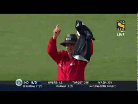 India vs New Zealand | India batting Highlights | Thrilling Finish 25 jan 2014