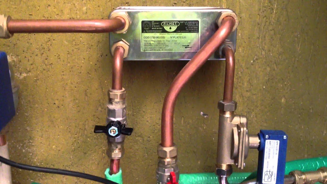 Kit acqua sanitaria con alimentazione su termostufa marta for Marta idro dal zotto
