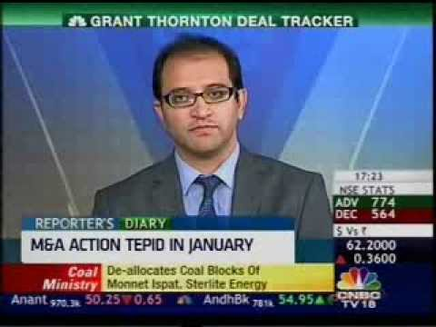 See pickup in M&A activity post elections: Grant Thornton