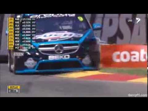 Will Davison Hits Tyres @ 2014 V8 Supercars Adelaide Practice