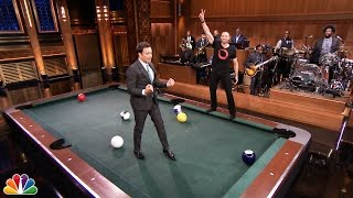 Pool Bowling with Hugh Jackman