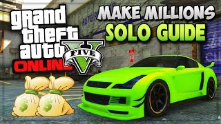 "GTA 5 SOLO Unlimited Money Missions! ""How To Make Money"
