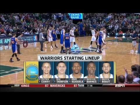 Warriors 2013-14 Season: Game 48 vs. Jazz