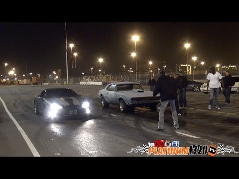 Team Boddie Super Charged 67 Camaro vs 2 Bolt on 4th Gens