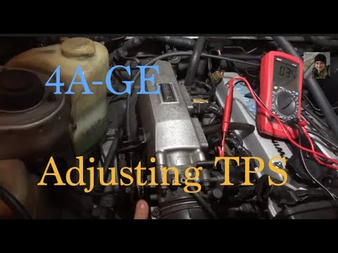 22re ecu wiring diagram toyota 4age how to adjust the tps throttle position  toyota 4age how to adjust the tps throttle position