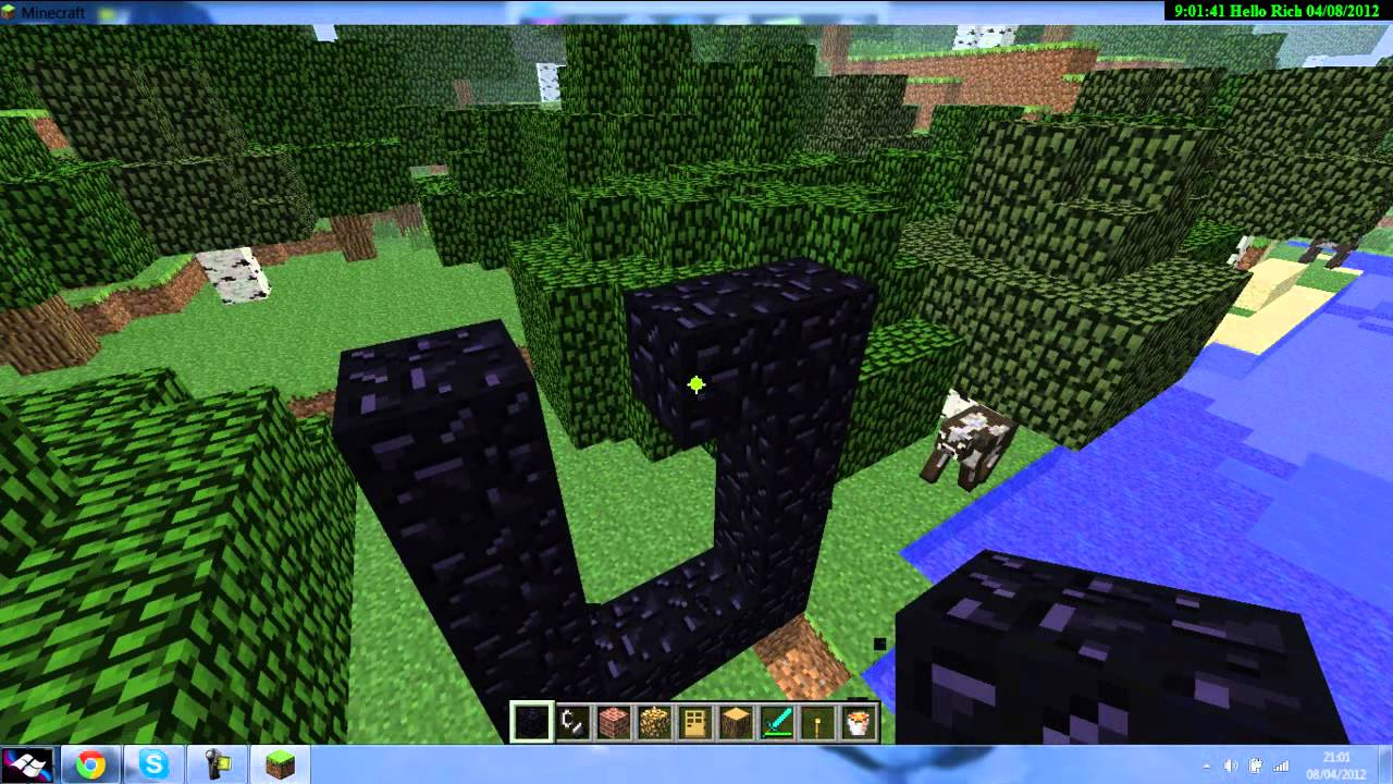 how to get to the nether in minecraft xbox