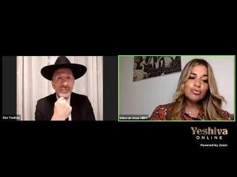 Deborah Amar recoit Rav David Touitou Sujet : Amenons du changement à nos vies !!! Shana Tova !!