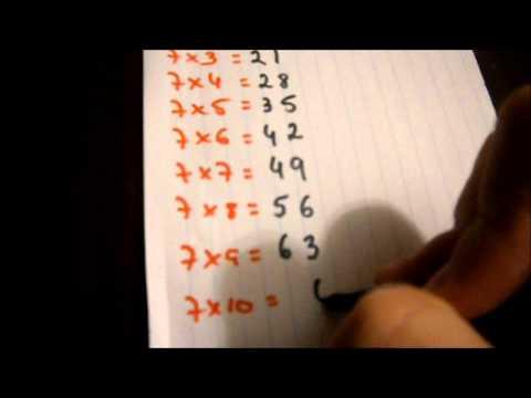 DESCOMPLICANDO A MATEMÁTICA - TABUADA DOS 6, 7, 8 e 9