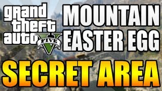 GTA 5 Get Inside Of Mount Josiah Possible Easter Egg