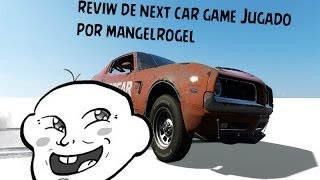 Next Car Game [link En La Descripcion] Juego Que Juega